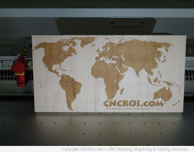 laser engraving the world