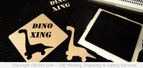 Custom Laser Cut Stencil Production