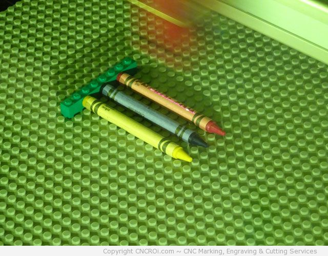 laser engraving crayola