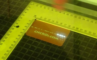 anodized aluminium name badge