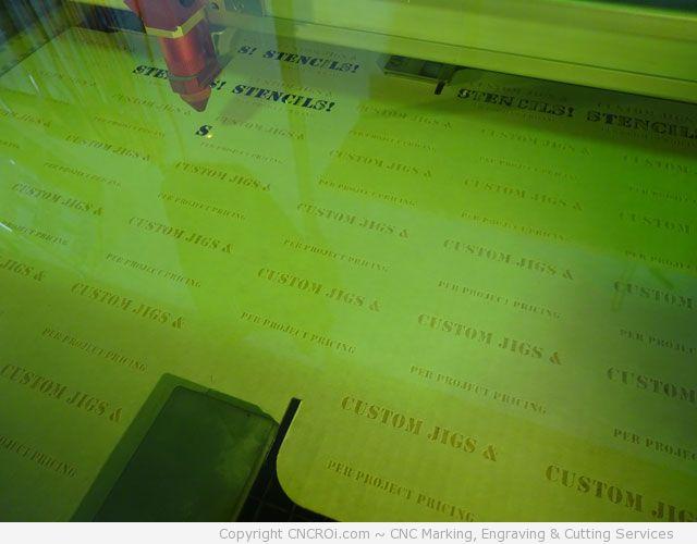 laser cutting cardboard