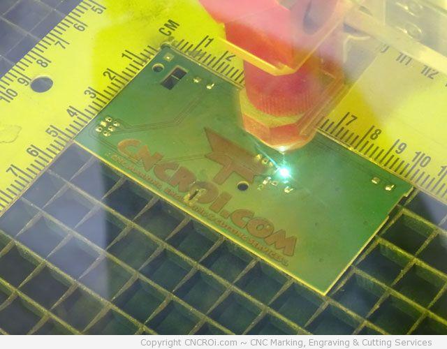 laser marking pcb board