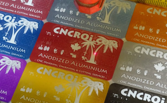 Custom Metal Business Cards: Anodized Aluminium