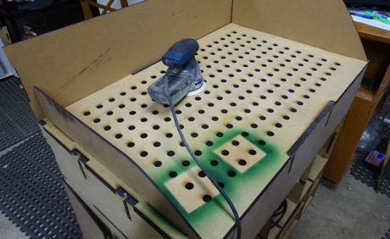 Comdowndraft Table Design : Custom Designed CNC Laser Cut Downdraft Table - CNCROi.com