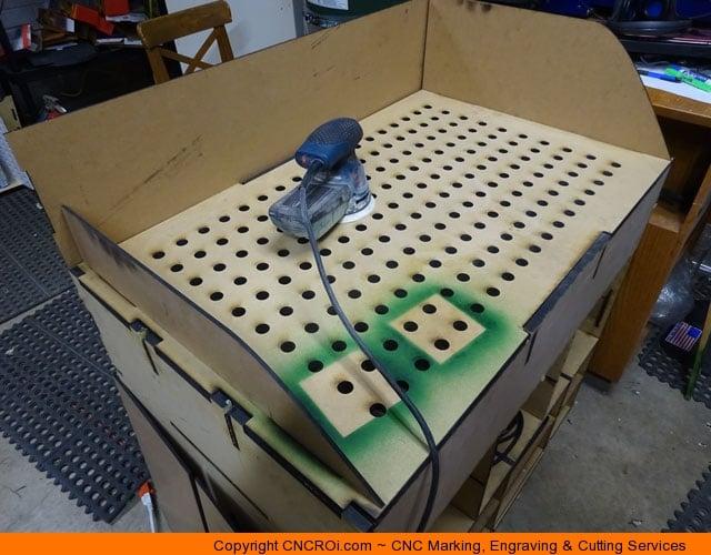 Custom Designed Cnc Laser Cut Downdraft Table