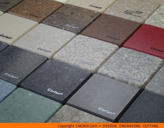 Custom Corian Color Options