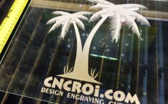 Custom CNC Laser Engraving Glass