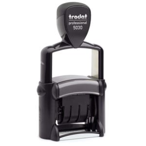 "trodat-5030-300x300 Trodat Professional 5030 Custom Self-Inking Stamp (4 mm or 0.15"" high DATE ONLY)"