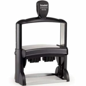 "trodat-54126-300x300 Trodat Professional ​54126 Custom Self-Inking Stamp (70 x 116 mm or 2.76 x 4.57"" with double dater)"