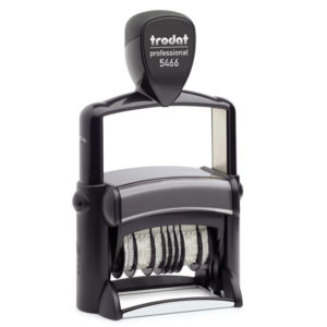"trodat-5466PL-300x300 Trodat Professional 5466/PL Custom Self-Inking Stamp (33 x 56 mm or 1.3 x 2.6"" with double dater)"