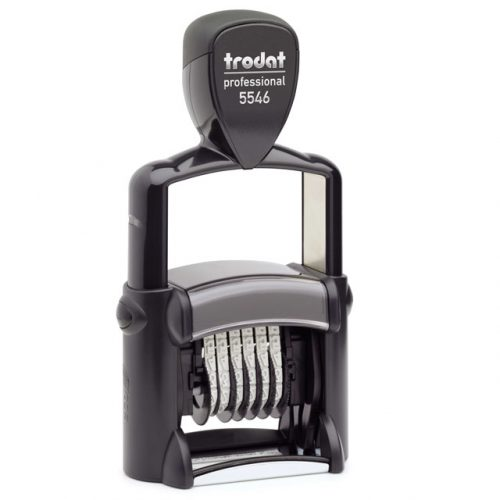 "trodat-5546-500x500 Trodat Professional 5546 Custom Self-Inking Stamp (4 mm or 0.15"" high NUMBERER ONLY)"