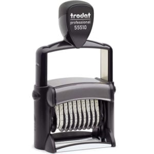 "trodat-55510-300x300 Trodat Professional 55510 Custom Self-Inking Stamp (5 mm or 0.2"" high NUMBERER ONLY)"
