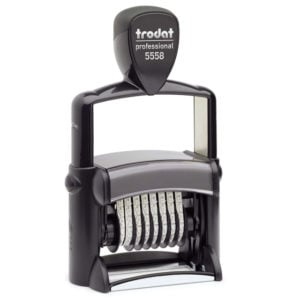 "trodat-5558-300x300 Trodat Professional 5558 Custom Self-Inking Stamp (5 mm or 0.2"" high NUMBERER ONLY)"