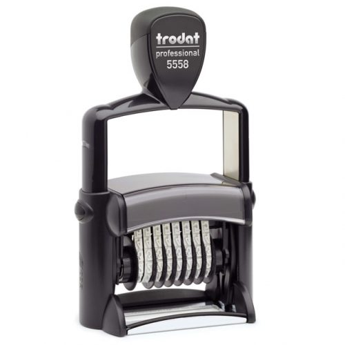 "trodat-5558-500x500 Trodat Professional 5558 Custom Self-Inking Stamp (5 mm or 0.2"" high NUMBERER ONLY)"