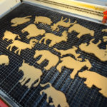custom cardboard animals