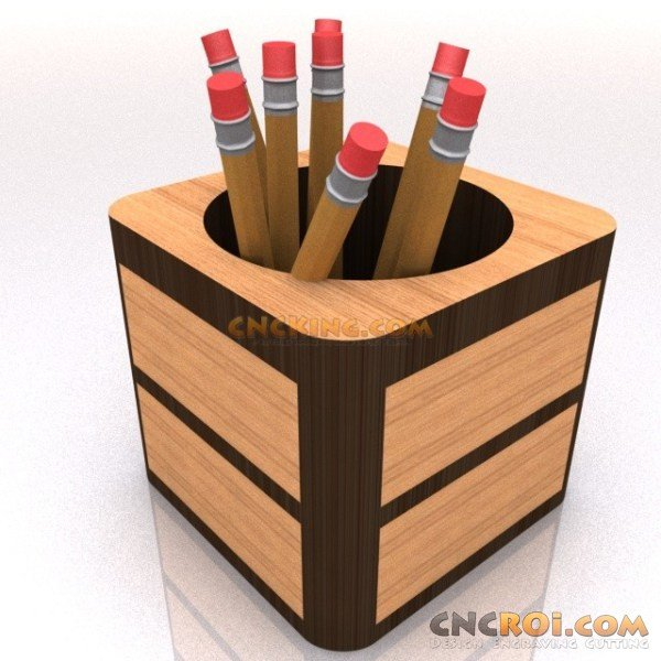 Pen And Pencil Holder D